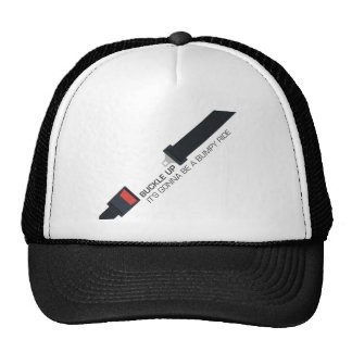 Buckle up, it's gonna be a bumpy ride trucker hat