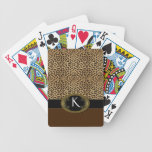 Buckle Up Leopard Bicycle Playing Cards