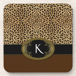 Buckle Up Leopard Coaster