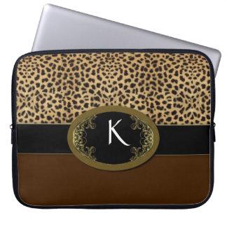 Buckle Up Leopard Computer Sleeve