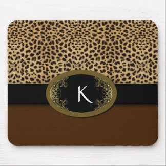 Buckle Up Leopard Mouse Pad