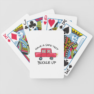 BUCKLE UP BICYCLE PLAYING CARDS