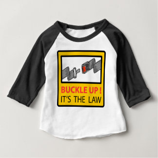 Buckle Up Sign Vector Sketch Baby T-Shirt