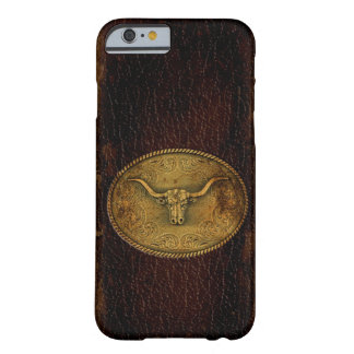 Buckled Leather Steer Barely There iPhone 6 Case