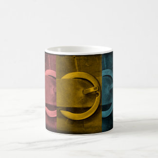 Buckles on a Coffee Mug