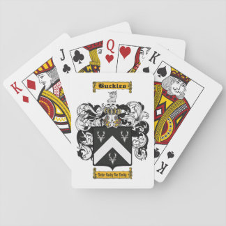 Buckles Playing Cards