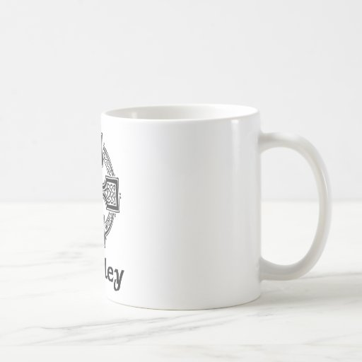 Buckley Celtic Cross Classic White Coffee Mug