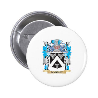 Buckley Coat of Arms Pinback Buttons