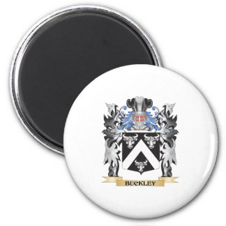 Buckley Coat of Arms - Family Crest 2 Inch Round Magnet