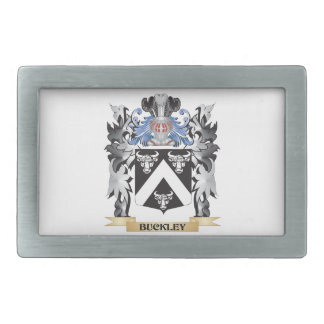Buckley Coat of Arms - Family Crest Belt Buckles