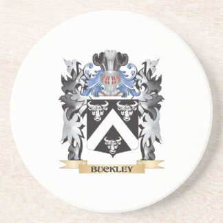 Buckley Coat of Arms - Family Crest Beverage Coaster