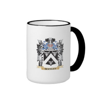 Buckley Coat of Arms - Family Crest Ringer Coffee Mug