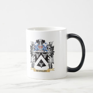 Buckley Coat of Arms - Family Crest 11 Oz Magic Heat Color-Changing Coffee Mug