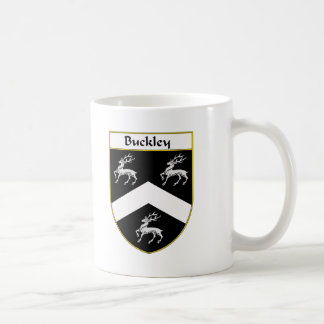 Buckley Coat of Arms/Family Crest Classic White Coffee Mug