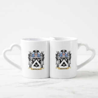 Buckley Coat of Arms - Family Crest Couples' Coffee Mug Set
