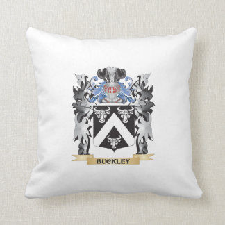 Buckley Coat of Arms - Family Crest Pillows