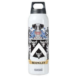 Buckley Coat of Arms - Family Crest 16 Oz Insulated SIGG Thermos Water Bottle