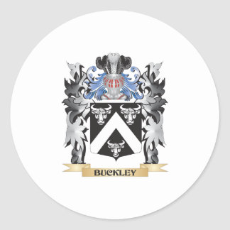 Buckley Coat of Arms - Family Crest Classic Round Sticker