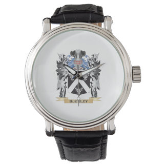 Buckley Coat of Arms - Family Crest Wristwatch