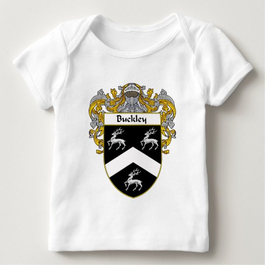 Buckley Coat of Arms (Mantled) Baby T-Shirt