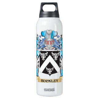 Buckley Coat of Arms 16 Oz Insulated SIGG Thermos Water Bottle