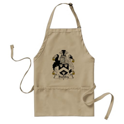 Buckley Family Crest Aprons