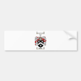 BUCKLEY FAMILY CREST -  BUCKLEY COAT OF ARMS CAR BUMPER STICKER