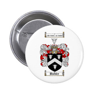 BUCKLEY FAMILY CREST - BUCKLEY COAT OF ARMS BUTTON
