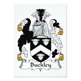 Buckley Family Crest Card
