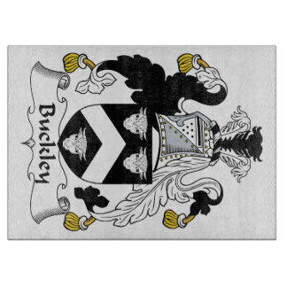 Buckley Family Crest Cutting Boards
