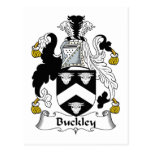 Buckley Family Crest Post Cards