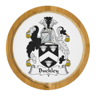 Buckley Family Crest Round Cheeseboard
