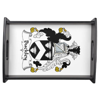 Buckley Family Crest Serving Trays