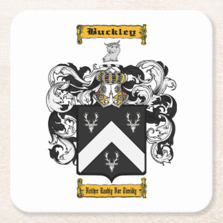 Buckley (irish) square paper coaster