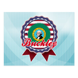 Buckley, WA Postcard