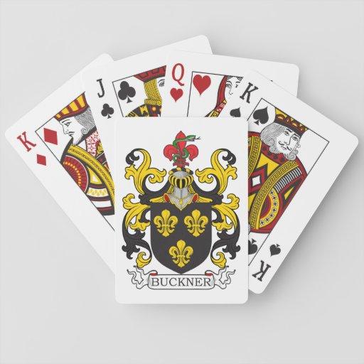 Buckner Family Crest Poker Cards