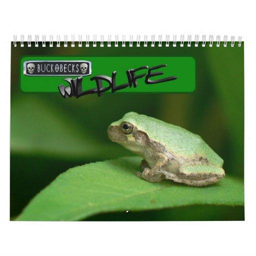 Buckobecks Wildlife Calender. Calendar