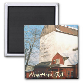 Bucks County Playhouse  2 Inch Square Magnet
