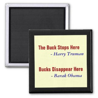 Bucks Here Magnet