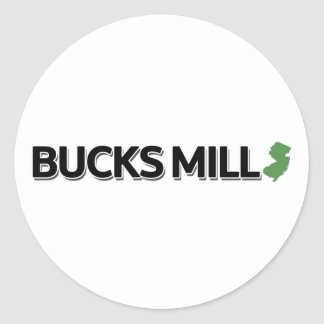 Bucks Mill, New Jersey Classic Round Sticker