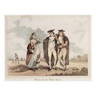 Bucks of the First Head Postcard