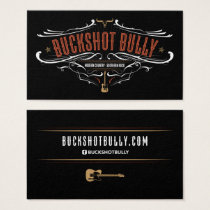 Buckshot Bully Business Card