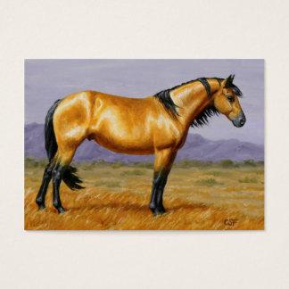 Bucksin Wild Horse Mustang Stallion Business Card