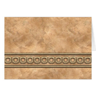 Buckskin and Bridle Leather Card