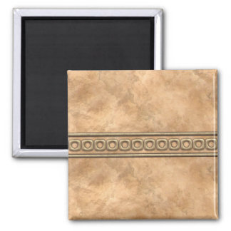 Buckskin and Bridle Leather Magnet