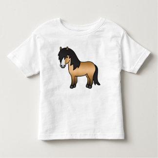 Buckskin Cartoon Shetland Pony Tshirts