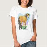 Buckskin Dun Horse Heart T-Shirt