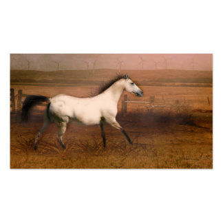 Buckskin horse Double-Sided standard business cards (Pack of 100)