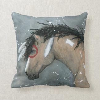 Buckskin Horse by BiHrLe Pillow