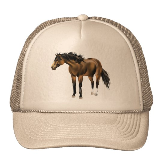Buckskin Horse Hat